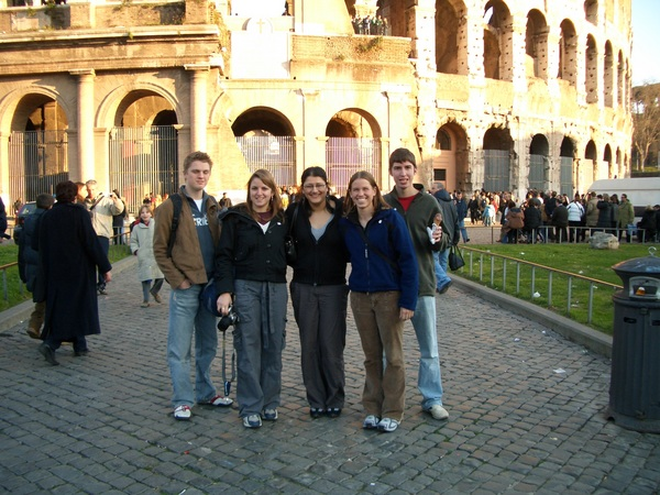 brits and i outside collesium.JPG