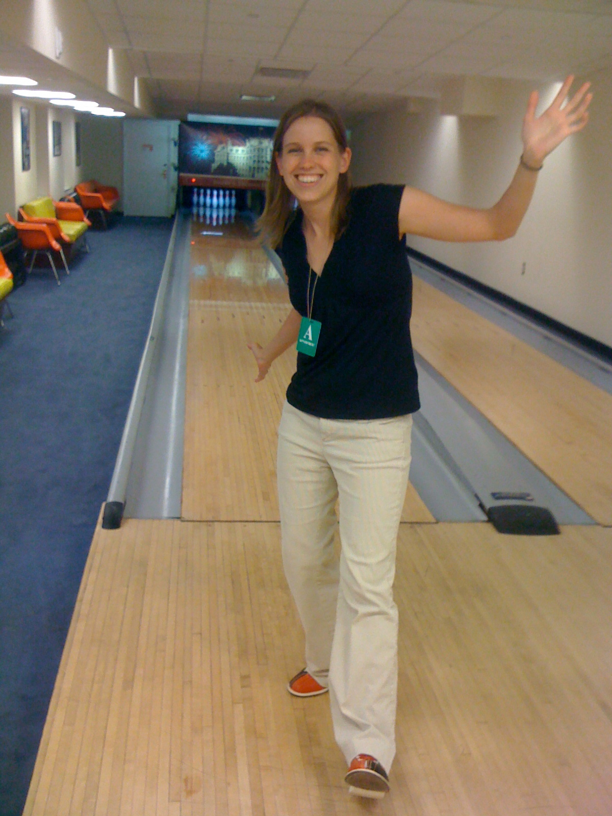 Awesome White House Bowling Outfit Erin Miller