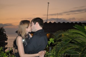 Kissing in Mexico